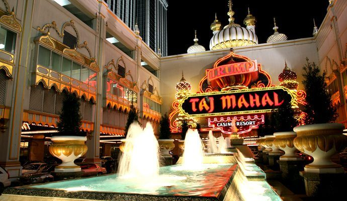 Trump Taj Mahal Casino Resort, Atlantic City (E.U.A.)